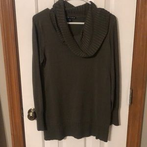 Cable & Gauge Cowlneck Sweater